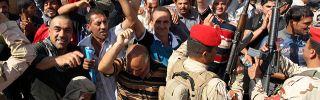 Iraqi Forces Push Back Against Rebels
