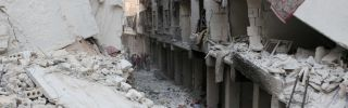 Rebel Forces' Options Are Limited in the Battle for Aleppo