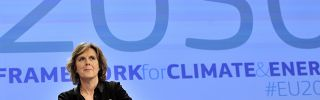 EU commissioner for Climate Action Connie Hedegaard in Brussels on Jan. 22.