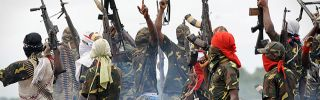 Fighters with the Movement for the Emancipation of the Niger Delta