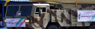 Fateh-110 missiles