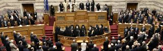 Greece: A Beset Government Prepares for Battle