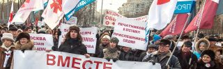 Amid an Economic Crisis, Russia Contains Dissent