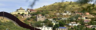 A view of Nogales from the American side of the U.S.-Mexico border. If walls were an effective way to halt the cross-border movement of contraband, cartels would not bother to expend so much blood and treasure to capture cities like Nogales.