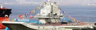 China's first aircraft carrier is docked in the northeastern Liaoning province. The Chinese navy will continue to increase its forays and deployments around the globe. After all, Beijing is doing all it can to build out a maritime presence commensurate with its status -- and logistics are the key.