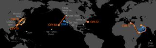 U.S. Naval Update Map: June 8, 2017 (Display)
