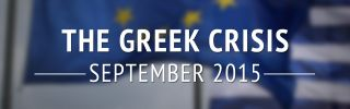 The Greek Crisis: September 2015 (DISPLAY)