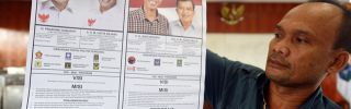Indonesia's Presidential Election: Different Candidates, Similar Presidents