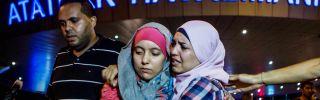 Confusion following a terrorist attack