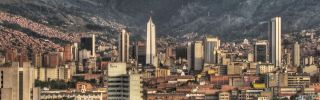 A view of Medellin, Colombia. (David Pena/Wikimedia)