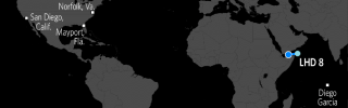 U.S. Naval Update Map: Jan. 5, 2016