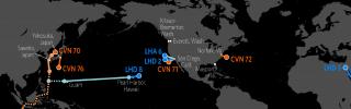 U.S. Naval deployments