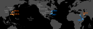 U.S. Naval Update Map: May 25, 2017