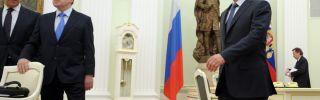 Russia's Putin Changes His Tone, But Not His Goals, in Ukraine