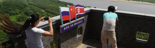 Russia, which shares a relatively short border but a long history with North Korea, is strengthening its economic and financial ties with its neighbor.