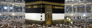 Muslim pilgrims circle counterclockwise Islam's holiest shrine, the Kaaba, at the Grand Mosque in the Saudi holy city of Mecca, late on September 21, 2015. The annual hajj pilgrimage begins on September 22, and more than a million faithful have already flocked to Saudi Arabia in preparation for what will for many be the highlight of their spiritual lives.