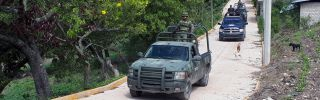 Mexico's military patrols in southwest Mexico
