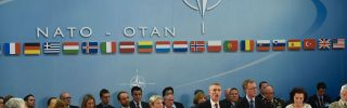 NATO Secretary-General Jens Stoltenberg speaks at a NATO Defense ministers' meeting at the NATO headquarters in Brussels on October 26, 2016.