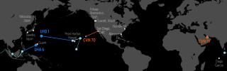 U.S. Naval Update Map: Jan. 11, 2018