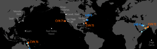 U.S. Naval Update Map: Aug. 1, 2019