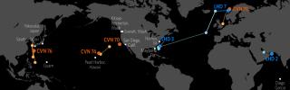 Naval Update Map: Nov. 1, 2018