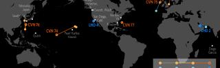 Naval Update Map: Nov. 8, 2018