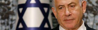 Israeli Prime Minister Benjamin Netanyahu speaks during a news conference in Jerusalem on Sept. 25, 2019.