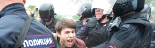 Russian police detained over 200 people on June 12 at protests called for by Kremlin critic Alexei Navalny.