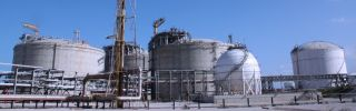 A Sonatrach gas complex in Skikda, Algeria.