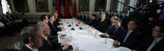 U.S.-China trade talks in Washington D.C