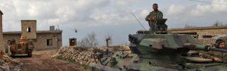 Turkey's Operation Olive Branch advances through northwestern Syria.