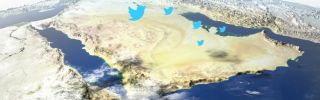 Twitter has become a primary theater in the war of words between Doha and Riyadh.