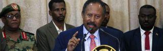 Abdallah Hamdok, Sudan's interim prime minister