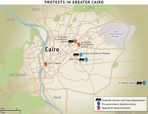 Protests in Greater Cairo