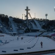 2018 Olympic venue in Pyeongchang, South Korea