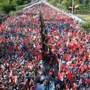 Political Rally in Turkey