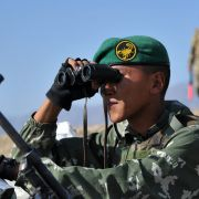 Russia and China are both active in Central Asia's security, conducting joint military and counterterrorism exercises with regional militaries through security blocs such as the Shanghai Cooperation Organization.