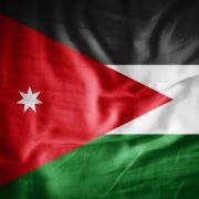 An image of the Jordanian flag.