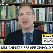 Rodger Baker on Bloomberg TV