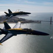 Military aviation demonstration teams like the U.S. Navy's Blue Angels are a staple at air shows around the world, acting as ambassadors for their countries while promoting their military branches.