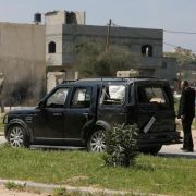 Prime Minister of the Palestinian National Authority assassination attempt when one of his security vehicles was bombed