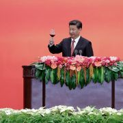 Chinese President Xi Jinping delivers a speech in September, 2015.