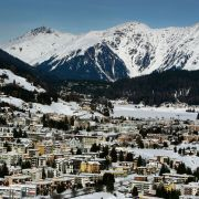 The world's business and political leaders are gathering this week in Davos, Switzerland, for the World Economic Forum.