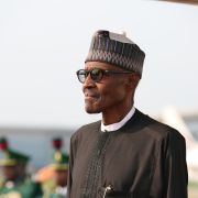 Nigerian President Muhammadu Buhari arrived back in Abuja on Aug. 19 after a three-month medical leave.