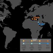 U.S. Naval Update Map: May 31, 2018