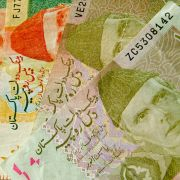 Pakistani rupees. Because of a widening trade deficit, Pakistan will continue to rely on external funding to plug its foreign exchange requirements.