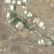 Much of Iran's Natanz Fuel Enrichment Facility, as shown in a satellite photo, exists about 8 meters underground, protected by a 2.5 meter concrete wall.