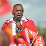 President Uhuru Kenyatta appears headed for re-election after the main opposition leader pulled out of the race.