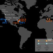 U.S. Naval Update Map: June 7, 2018