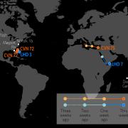 U.S. Naval Update Map: June 14, 2018